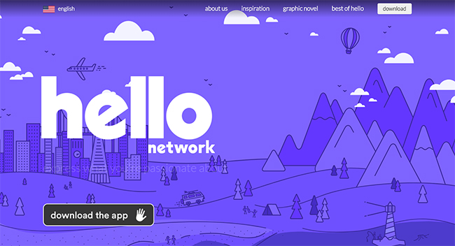 How to Open account in hello social network