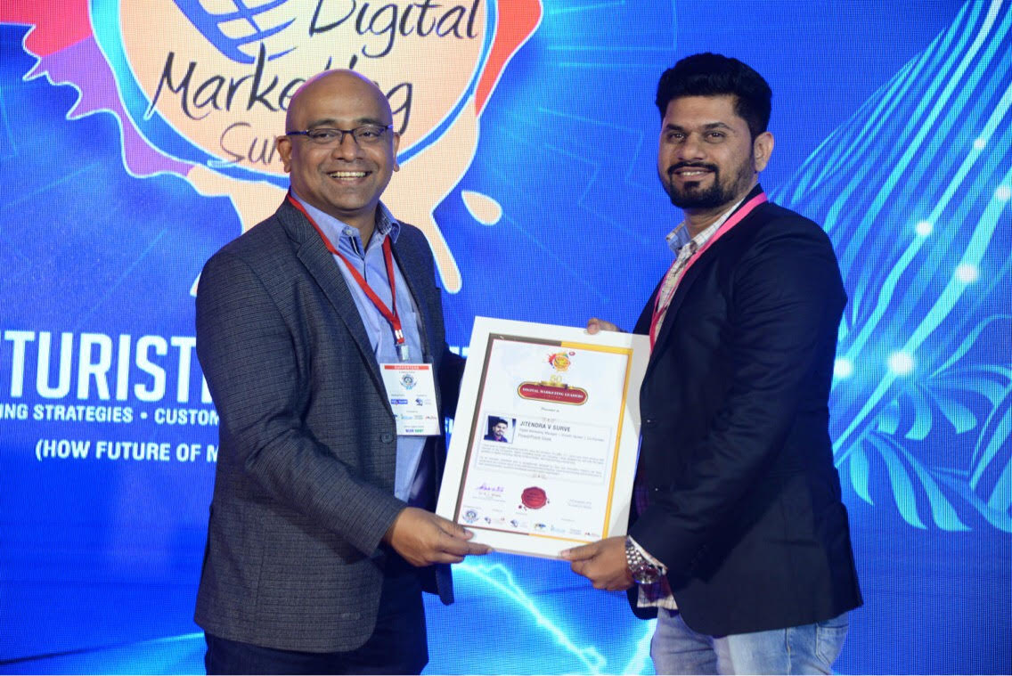 Top 50 influential digital marketing leaders award India