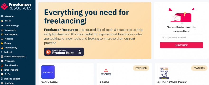 Best Resources for Freelancer and the Startups